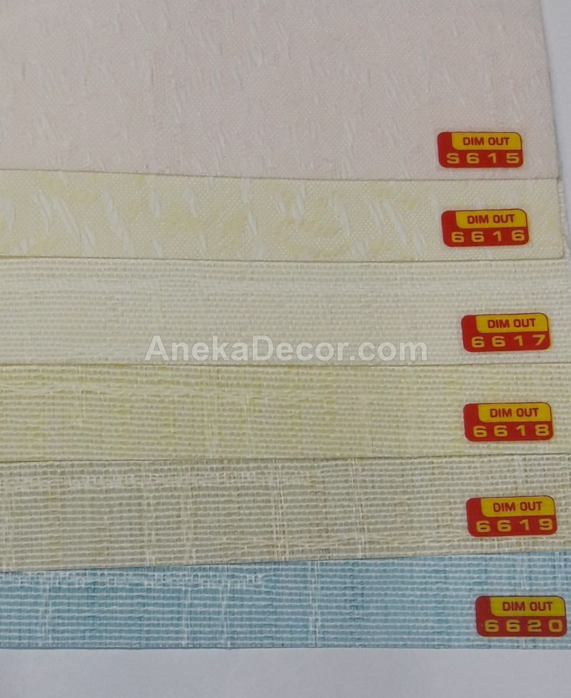 ONNA Vertical Blinds DIMOUT Seri 66