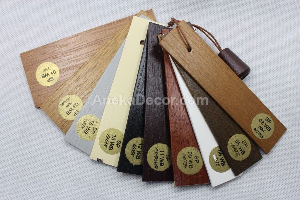 Wooden Blind  Sharppoint 27 mm