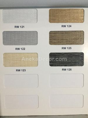 Onna Rainbow Blinds Dimout 120 mm Seri RW 12
