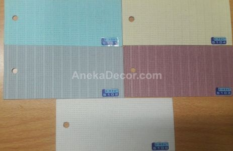 ONNA Vertical Blinds DIMOUT Seri 52 51