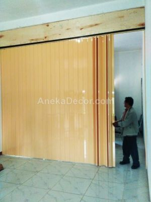 harga folding door pvc  per meter